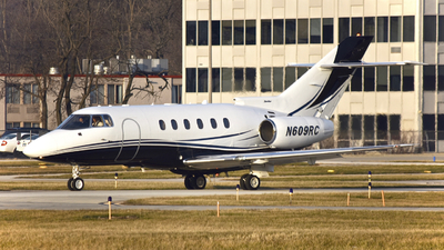 N609RC - Hawker Beechcraft 800XP - Private