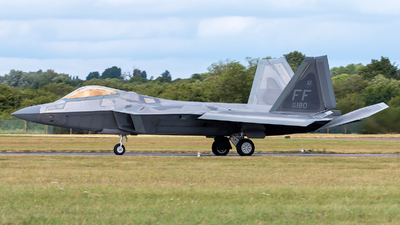09-4180 - Lockheed Martin F-22A Raptor - United States - US Air Force (USAF)