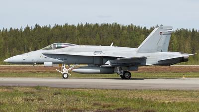 HN-451 - McDonnell Douglas F-18C Hornet - Finland - Air Force
