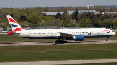 G-STBC - Boeing 777-36NER - British Airways