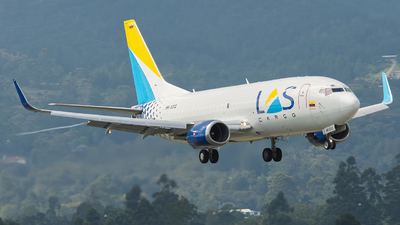 HK-5312 - Boeing 737-33V(SF) - Lineas Aéreas Suramericanas (LAS)