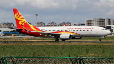 A picture of B1503 - Boeing 73784P - Hainan Airlines - © Wayne Song