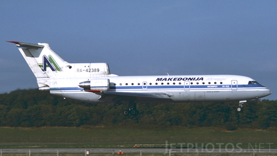 RA-42389 - Yakovlev Yak-42D - Macedonia AS
