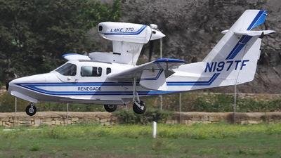 N197TF - Lake LA-270T Renegade - Aero Club - Como