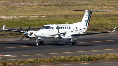 3972 - Beechcraft B300 King Air 350i - Mexico - Air Force