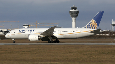 A picture of N45905 - Boeing 7878 Dreamliner - United Airlines - © Stefan Mayer