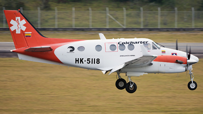 HK-5118 - Beechcraft C90GTx King Air - Colcharter
