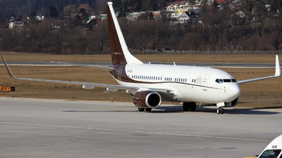 9H-BBJ - Boeing 737-7BC(BBJ) - Netherlands - Government