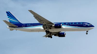 A picture of 4KAZ81 - Boeing 76732L(ER) - Azerbaijan Airlines - © M. Azizul Islam