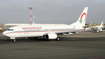 CN-RGE - Boeing 737-86N - Royal Air Maroc (RAM)