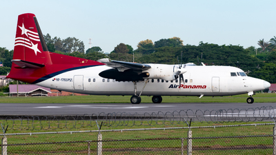 HP-1793PST - Fokker 50 - Air Panama