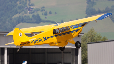 N101LM - Husky A-1B - Private