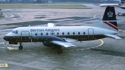 G-HDBA - Hawker Siddeley HS-748 Series 2B - British Airways