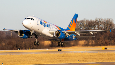 N321NV - Airbus A319-111 - Allegiant Air