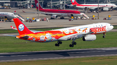 A picture of B5960 - Airbus A330343 - Sichuan Airlines - © ShiraNoko