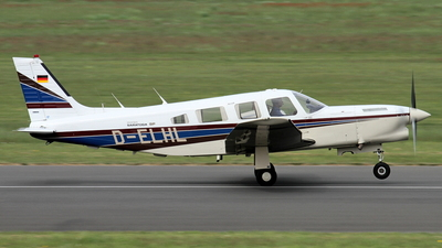 D-ELHL - Piper PA-32R-301T Turbo Saratoga SP - Private