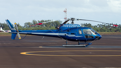 N992BH - Eurocopter AS 350B2 Ecureuil - Blue Hawaiian Helicopters
