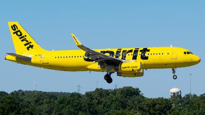 N619NK - Airbus A320-232 - Spirit Airlines