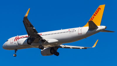 A picture of TCNBN - Airbus A320251N - Pegasus Airlines - © Furkan KSCK