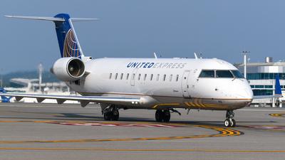 N416AW - Bombardier CRJ-200LR - United Express (Air Wisconsin)