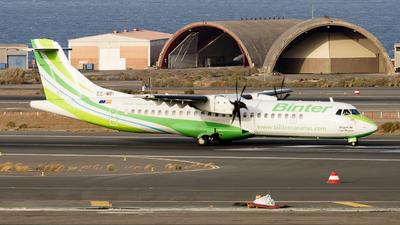 A picture of ECMPI - ATR 72600 - Binter Canarias - © RobertLN