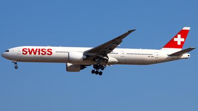 HB-JNH - Boeing 777-3DEER - Swiss