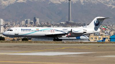 EP-ATF - Fokker 100 - Iran Aseman Airlines