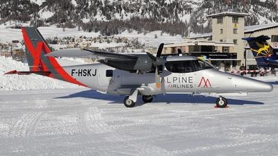 F-HSKJ - Vulcanair AP.68TP-600 A-Viator - Alpine Airlines