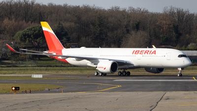 F-WZGU - Airbus A350-941 - Iberia