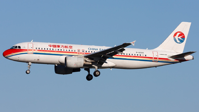 B-6009 - Airbus A320-214 - China Eastern Airlines