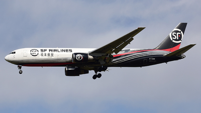 A picture of B1589 - Boeing 767338(ER)(BCF) - SF Airlines - © ShepherdWang
