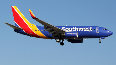 A picture of N446WN - Boeing 7377H4 - Southwest Airlines - © Huy Do