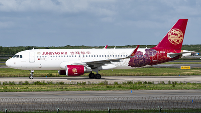 B-8035 - Airbus A320-214 - Juneyao Airlines