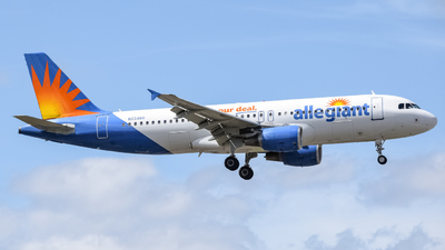 N234NV - Airbus A320-214 - Allegiant Air
