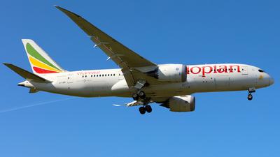 A picture of ETARF - Boeing 7878 Dreamliner - Ethiopian Airlines - © J.M.Carballo
