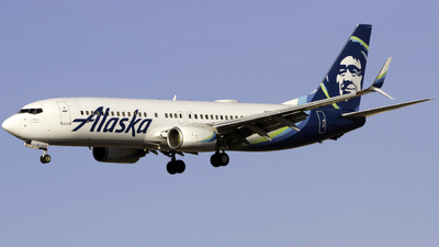 A picture of N592AS - Boeing 737890 - Alaska Airlines - © Andrew Seong