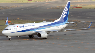 JA90AN - Boeing 737-8AL - All Nippon Airways (ANA)