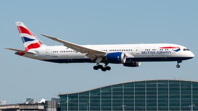 G-ZBKS - Boeing 787-9 Dreamliner - British Airways