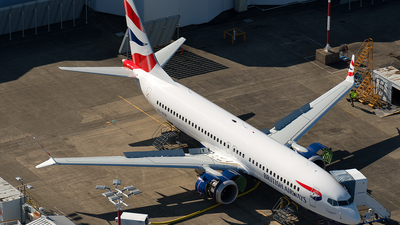 ZS-ZCB - Boeing 737-8 MAX - British Airways (Comair)