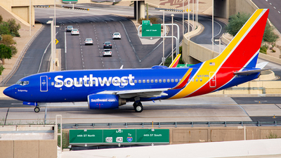 N417WN - Boeing 737-7H4 - Southwest Airlines