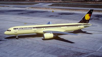 SE-DUN - Boeing 757-225 - Blue Scandinavia