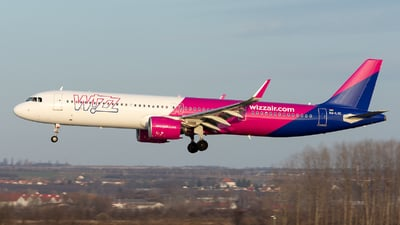 HA-LVE - Airbus A321-271NX - Wizz Air