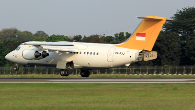 PK-PJJ - British Aerospace BAe 146-200 - Pelita Air