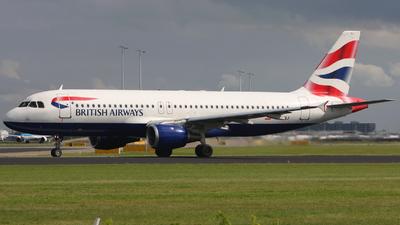 G-BUSJ - Airbus A320-211 - British Airways
