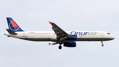 TC-OBJ - Airbus A321-231 - Onur Air