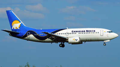 A picture of CFKCN - Boeing 73736N - Canadian North - © Peter Kesternich