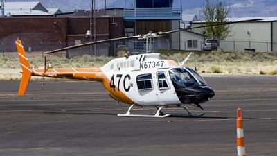 N67347 - Bell 206B JetRanger - United States - US Army