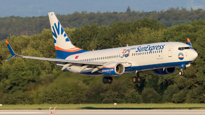 A picture of TCSEI - Boeing 7378HC - SunExpress - © Justin Stöckel