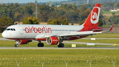 D-ABNQ - Airbus A320-214 - Air Berlin
