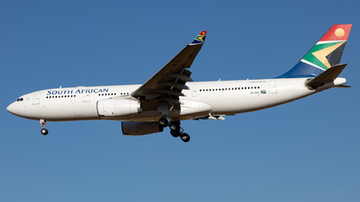 ZS-SXV - Airbus A330-243 - South African Airways